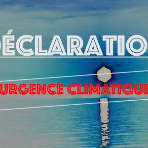 Dépôt de la Déclaration d'urgence climatique à la Ville de Rimouski