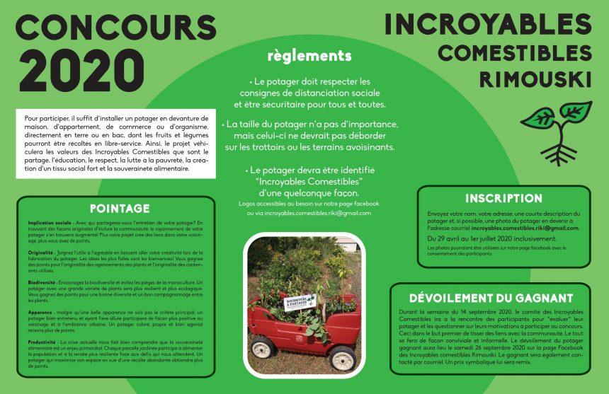 Concours Les Incroyables Comestibles
